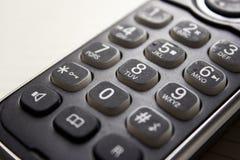 老电话数字 免版税图库摄影