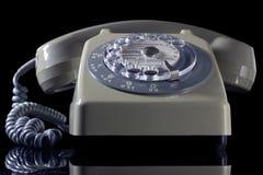 老电话环形 免版税库存照片