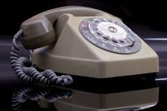 老电话环形 免版税库存图片
