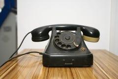 老电话电话 免版税库存图片