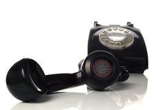 老电话的异常分支 库存照片