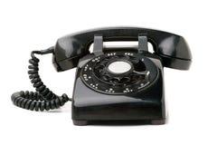 老电话葡萄酒 库存照片