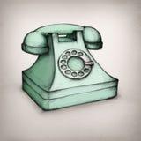 老电话 皇族释放例证
