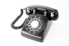 老电话 库存照片