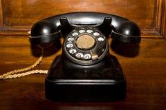 老电话 图库摄影