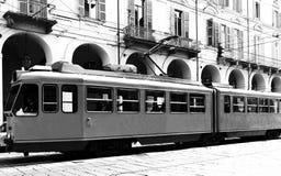 老电车 免版税库存照片