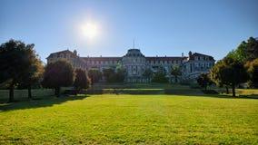 老疗养院在Szczawno Zdroj,波兰 库存照片