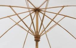 老白色伞 图库摄影