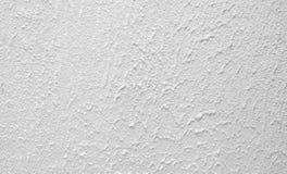 老白色未加工的混凝土墙纹理背景适用于Pres 免版税库存图片