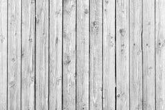 老白色被风化的木纹理 免版税库存图片