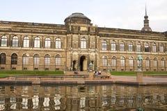 老的主画廊在德累斯顿,德国 免版税库存照片