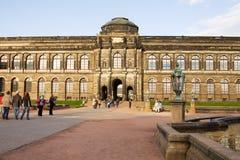 老的主画廊在德累斯顿,德国 库存图片