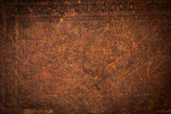 老皮革背景纹理 免版税图库摄影