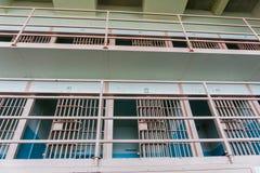 老监狱牢房 免版税库存照片