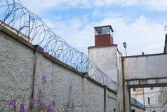 老监狱苏维埃塔林 免版税库存照片