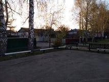 老省镇,某处俄罗斯的深度 库存照片