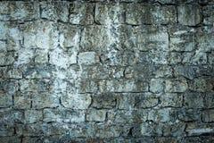 老石城堡墙壁背景 免版税库存照片