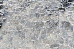 老石墙浮出水面纹理背景,纹理13 免版税库存图片
