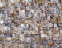 老石墙纹理照片 库存图片