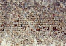老石墙纹理照片 免版税库存照片