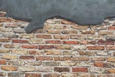 老石墙背景葡萄酒 免版税图库摄影