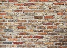 老石墙背景葡萄酒 免版税库存照片