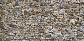 老石墙背景 库存图片