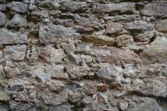 老石墙背景 免版税库存照片