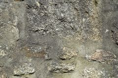 老石墙背景 图库摄影