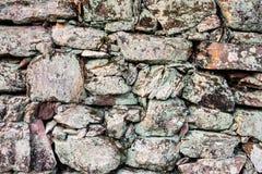 老石墙 库存照片