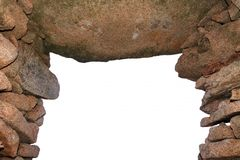 老石拱道 免版税库存照片
