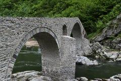 老石桥梁 图库摄影