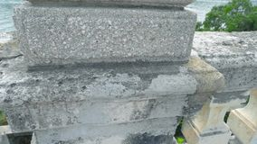 老石楼梯栏杆 影视素材