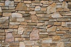 老石纹理墙壁 库存图片