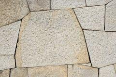 老石纹理墙壁 免版税库存图片