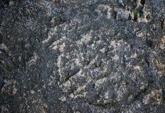 老石纹理背景 困厄的石表面 土气设计模板 免版税图库摄影