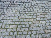 老石路面纹理 免版税库存图片
