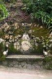 老石长凳在葡萄牙 图库摄影