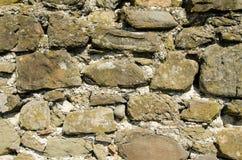 老石头纹理与水泥一起的 图库摄影