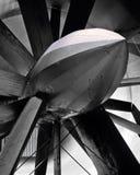 老研究隧道涡轮风 免版税图库摄影