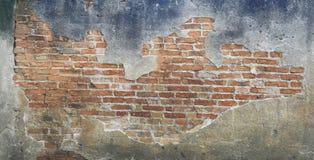 老砖块墙壁 免版税图库摄影