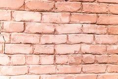 老砖墙作为抽象背景 免版税库存照片