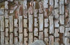 老砖墙壁 图库摄影