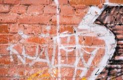 老砖墙纹理或背景 库存照片