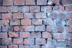 老砖墙纹理 库存图片