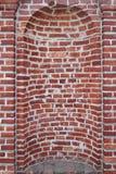 老砖墙适当位置 免版税图库摄影