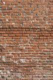 老砖墙-垂直 免版税库存照片