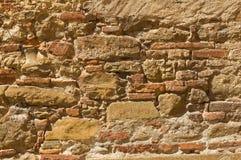 老砖墙 库存照片