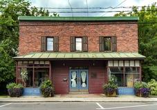 老砖房子 免版税库存照片