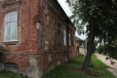 老砖房子 图库摄影